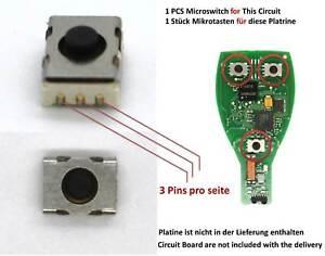 Original Mercedes Schlüssel Schalter Mikroschalter Taster key Microswitch switch