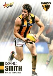 New-2020-HAWTHORN-HAWKS-AFL-Card-ISAAC-SMITH-Footy-Stars