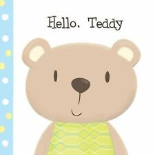 Cuddly Book Set: Hello Teddy by Francesca Ferri (2016, Board Book)