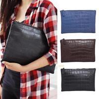 XD#3 Women PU Leather Handbag Clutch Envelope Evening Bag Purse Tote Ladies Bag