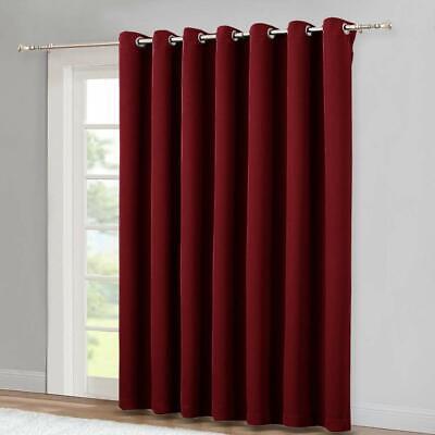 Curtain Patio Gl Slide Door