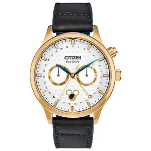 Citizen-Men-039-s-Eco-Drive-Mickey-Mouse-Limited-Edition-43mm-Watch-AP1058-11W