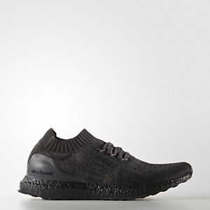 9868e4d6c6767 Image is loading adidas-UltraBOOST-Uncaged-Triple-Black -Running-Shoes-BA7996-