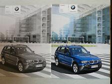 Prospekt - BMW X 3 (2.5i, 3.0i, 2.0d, 3.0d), 1.2005, 84 Seiten + Preisliste 9.04