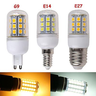 E27/E14/G9 3W 3.5W 4W 6W 7W SMD Light LED Corn Bulb Warm Cool White 220V-240V