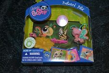 LITTLEST PET SHOP POSTCARD PETS BUTTERFLY # 1357 VHTF !!