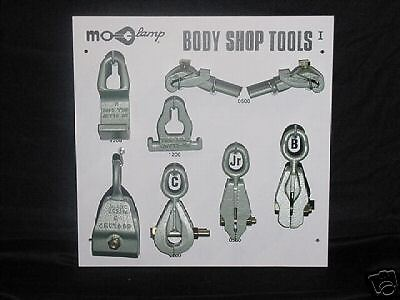Mo-Clamp Tool Board with Tools