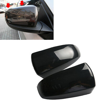 2x Left /& Right Door Wing Rearview Mirror Cover Cap Fit BMW X5 X6 E70 2006-2013