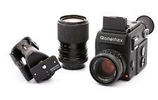 Rolleiflex SL 2000 F motore con 50mm 1:1,8 Planar HFT u. 35-105mm 1:3,5-4,3