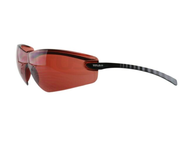 ba9cd65b8ab6 Titus G23 Memory Stem Safety Glasses Shooting Motorcycle Eye Protection  ANSI Z87