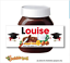 thumbnail 6 - CHRISTMAS Personalised fits Nut Chocolate Spread Jar LABEL Sticker Gift XMAS