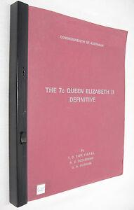 Commonwealth of Australia 7¢ Cent Queen Elizabeth II Definitive by Tapp & Durham oWdCjBWi-07142929-325000731