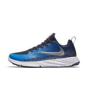 low priced 50022 a5dac Image is loading Nike-Vapor-Speed-Turf-Football-Trainer-blue-Black-