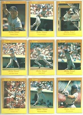 Robin Yount 1990 Star Company Milwaukee Brewers GLOSSY Promo Card