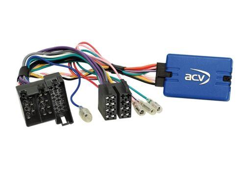 Iveco Daily 6 ab 14 2-DIN Autoradio Einbauset  Lenkradfernbedienungsadapter