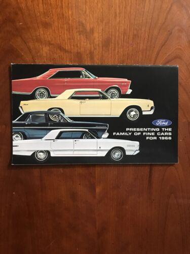 Vintage 1966 Ford Motor Co Dealer Booklet New Old Stock inc Ford BRONCO