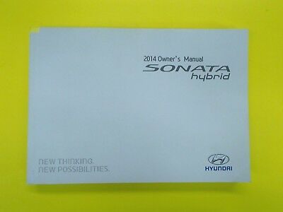 Accent 14 2014 Hyundai Owners Owner/'s Manual Set Genuine OEM