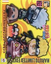 Naruto Shippuden Orange Cake Petit Chara Set of 3 Mini Figures MegaHouse