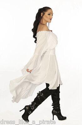 DRESS LIKE A PIRATE UNIQUE ROMANTIC LADY CUTLASS DRESS TUNIC  XS-6X