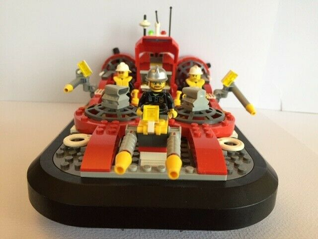 7944 LEGO City Fire Hovercraft | 100% Complete - Retired 2008