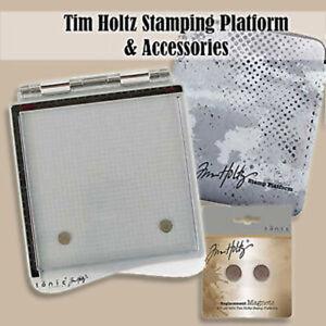 Tim-Holtz-Tonic-Studios-stamp-plate-forme-et-accessoires-Choisir