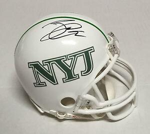 New York Jets  88 JACE AMARO Signed Autographed Football Helmet COA ... 104c23fef