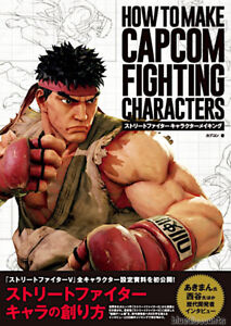 DHL-HOW-TO-MAKE-CAPCOM-FIGHTING-CHARACTERS-Street-Fighter-Game-Making-Art-Book
