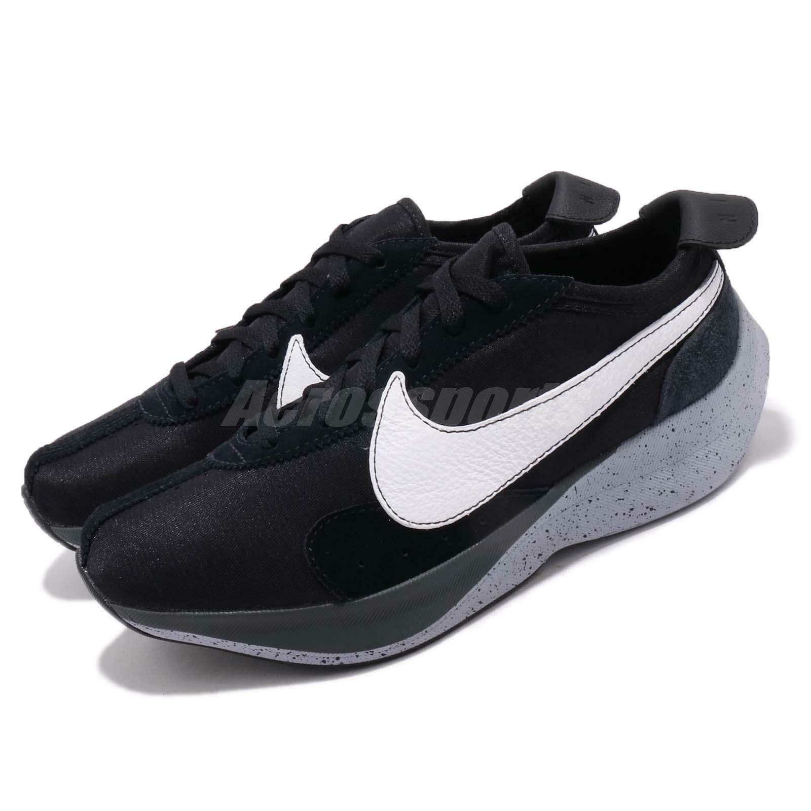 Nike Moon Racer Noir Blanc  Gris  Homme Running Chaussures Sneakers AQ4121-001
