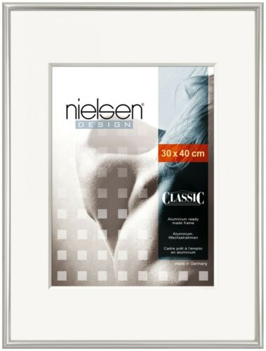 NIELSEN Classic 40x60cm PolishedSilver Picture Frame