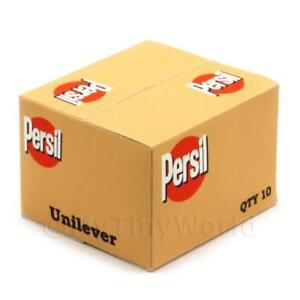 Miniatura-Para-Casa-De-Munecas-PERSIL-Detergente-En-Polvo-Almacenaje-Caja