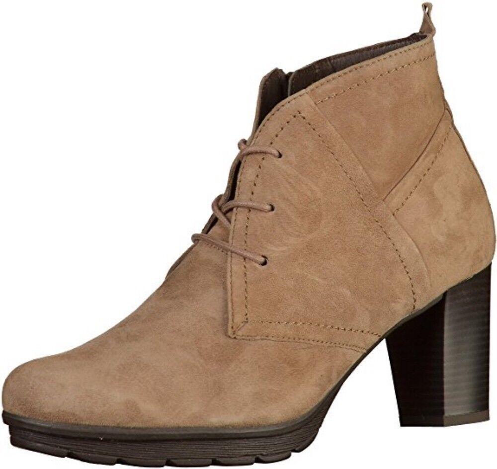Caprice clásico señora botín Ginger serraje botín bota UE 37-UK 4