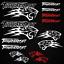 Thundercat-stickers-decal-snowmobile-arctic-cat-snowboard-quad-tuning-helmet miniature 8