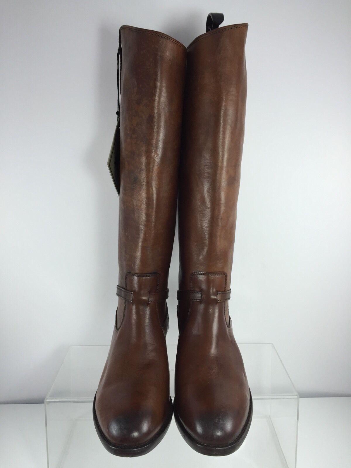 Frye damen damen damen braun Leather Knee Stiefel 9 B 9c152a