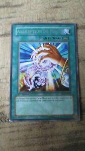 Carte Yu-Gi-OH-Absorption de magie-1ere édit.Française-FET-FR039-