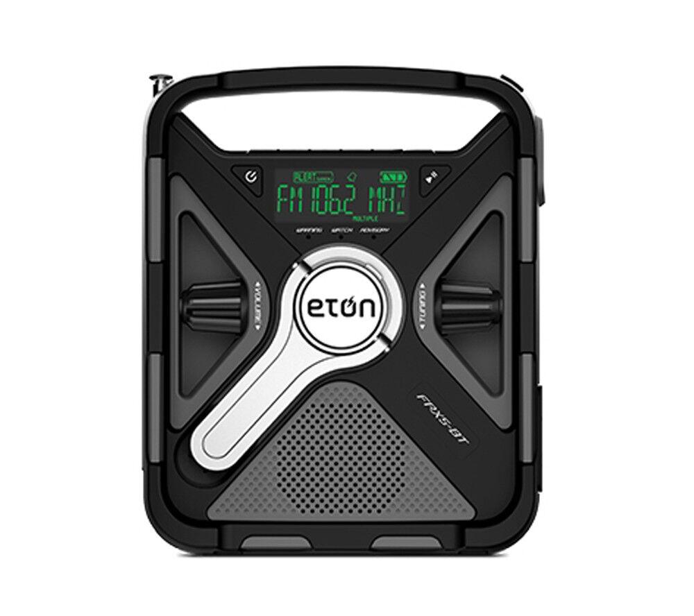 Eton FRX5-BT AM FM NOAA Weatherband Emergency Radio SAME Alert USB blueetooth