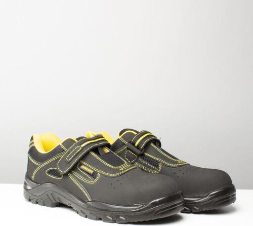 Unisex Sneaker Fs77 Safety Donna Acciaio Work S1 da allenamento Uomo Amblers nero TqEU8gg