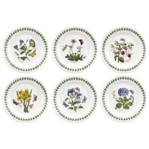 Portmeirion-Botanic-Garden-6-5-034-Side-Plate-Set-6-Assorted