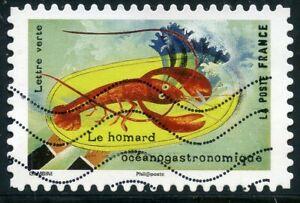 France Autoadhesif Oblitere N° 1459 Le Gout // Homard