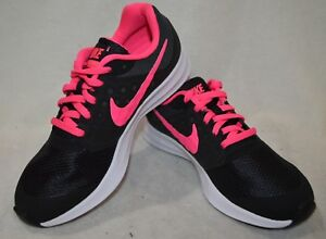 4dbf30166ddc Nike Downshifter 7 (GS) Black Pink Girl s Running Shoes - Assorted ...
