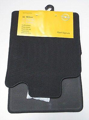 Velours Fußmatten Sport Edition 4-teilig für Opel Signum ab Bj.05//2003