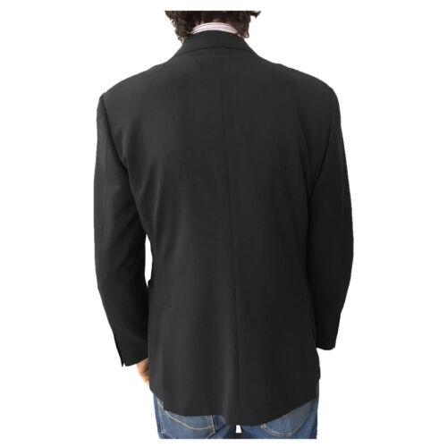 FLY3 giacca uomo sfoderata blu 30th anniversary con bottoni ricambio 98% lana 52