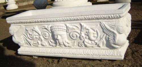 Blumenkasten Pflanzkasten Schale Pflanzgefäß  Gartendekoration Marmor Art.355