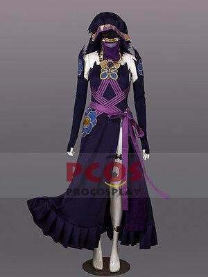 Fire Emblem Fates Azura Purple version Cosplay Costume Custom mp003462