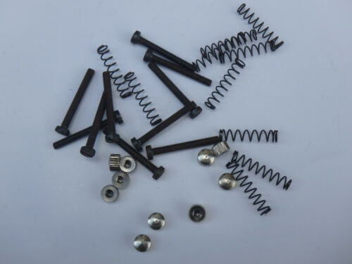 Similar to Campagnolo DROPOUT ADJUSTER pair Screws Springs and chrome Heads NOS