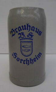 Antiker Bierkrug - Brauhaus BS Forchheim Antique beer mug