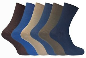 6-Pairs-Ladies-Thin-Soft-Gentle-Grip-Top-Non-Elastic-Cotton-Rich-Ankle-Socks