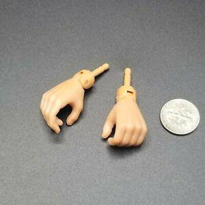 1:6 Dragon Male Nude Pistol Grip Hands for Body 12 GI Joe