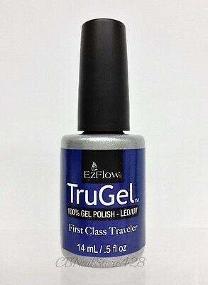 EZFlow TruGel - NEW -100% LED UV Nail Gel Polish 0.5oz/14mL - Series 4