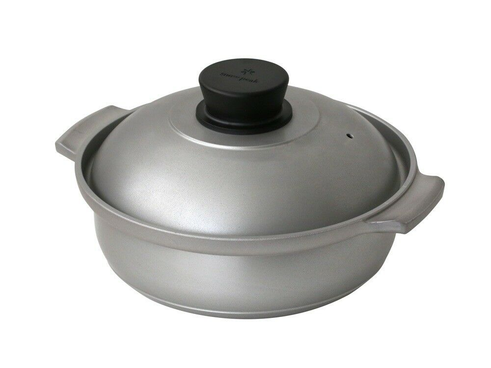 SNOW PEAK Yaen Nabe 30 CS-250 6.1L Alminium Pot Donabe Camping Outdoor Japan NEW