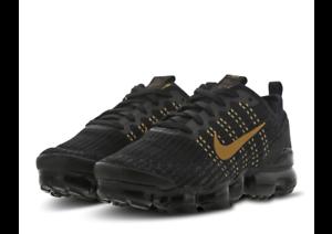 Nike Air Vapormax Flyknit Black/Gold UK
